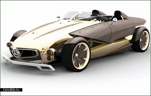 Ретро-концептуальное авто Mercedes-Benz Recy