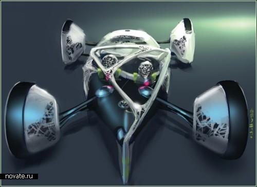 Концептуальный космо-кар Volkswagen Nanospyder