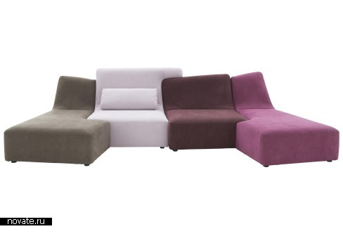 Гармоничное *Слияние* в мебели Confluences от Philippe Nigro