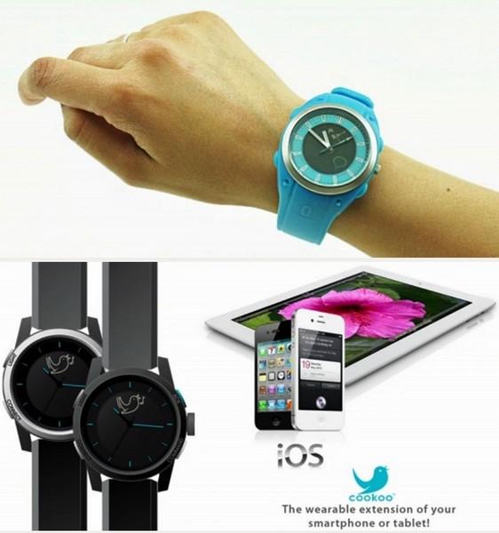 Cookoo watch: единственные в мире часы для управления смартфоном