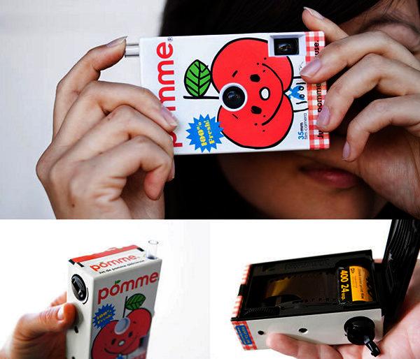Веселые аппараты Juice Cameras от FUUVI