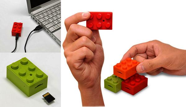 Фотокамера CHOBi Cam Block в виде кубика Lego