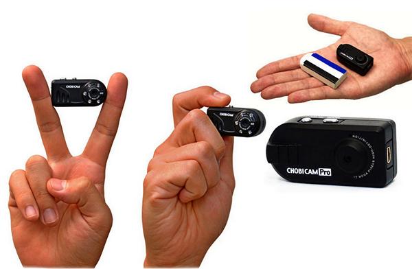 Крохотные фотоаппараты из серии CHOBi Cam
