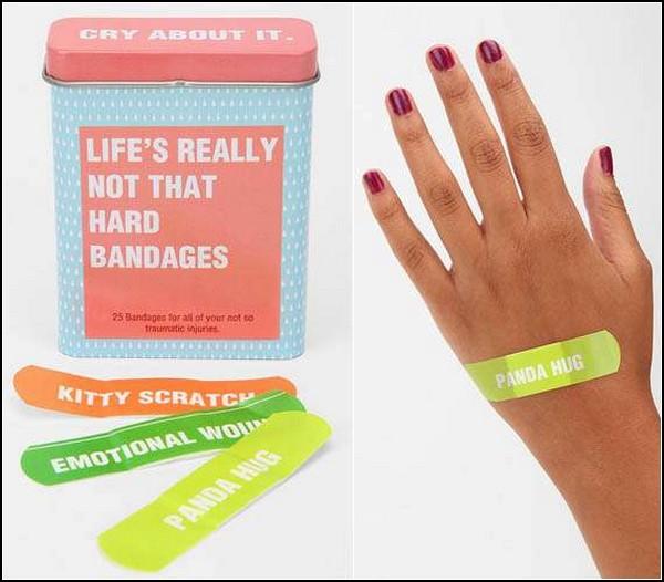 Cry About It Bandages, прикольные цветные лейкопластыри