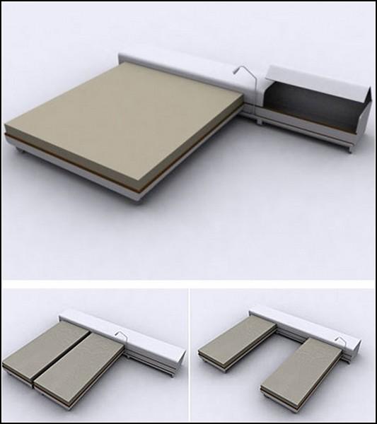 Как из одной общей кровати сделать две раздельные
