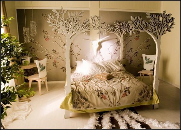 Кровать-сад для сладких снов