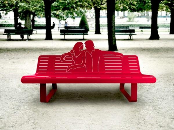 Уличные скамейки от Томаса де Люссака (Thomas de Lussac)