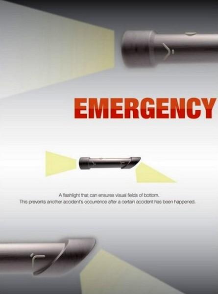 Emergency Flashlight: светим и вдаль, и себе под ноги