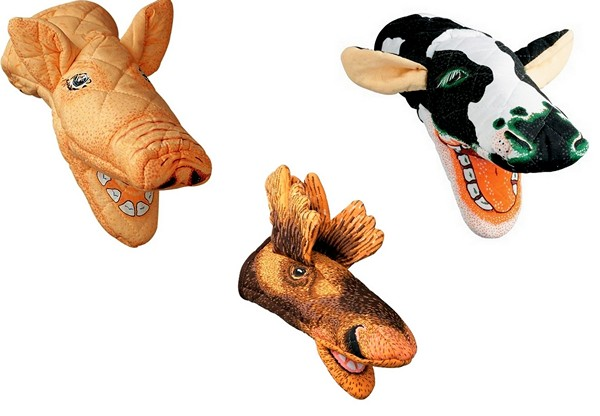 Прихватки в виде разных животных
