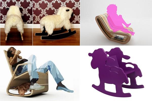 Обзор необычных дизайнерских кресел-качалок