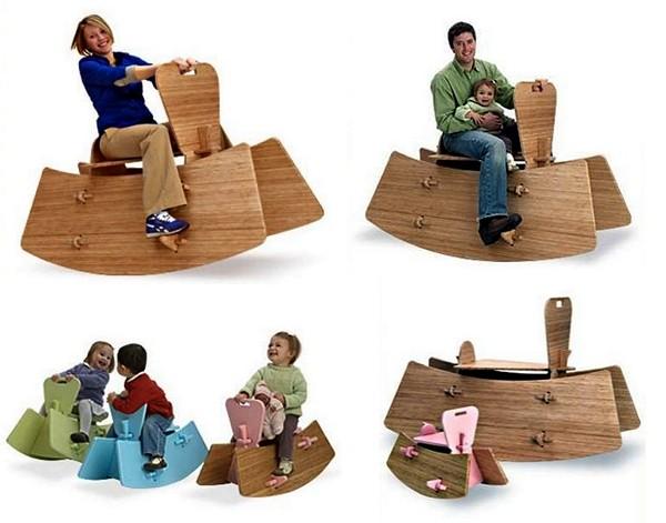 Модульное кресло-качалка для всей семьи