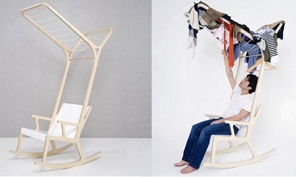 Objet E, кресло-качалка из серии 8objets