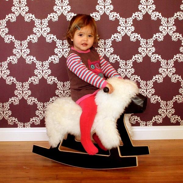 Овечка-качалка, детское кресло Rocking Sheep