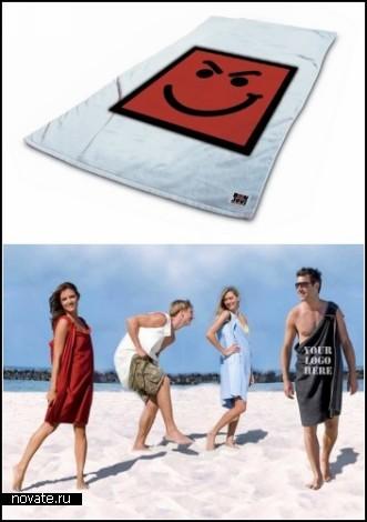 Обзор креативных пляжных полотенец