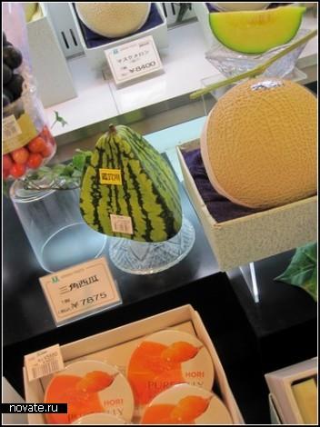 Креативные японские арбузы