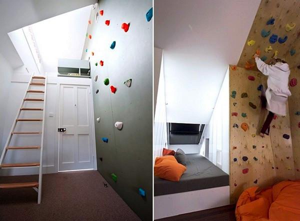 Домашний скалодром для любителей альпинизма