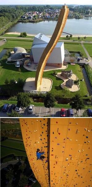 Скалодром Excalibur, проект архитектурной компании Klimcentrum Bjoeks