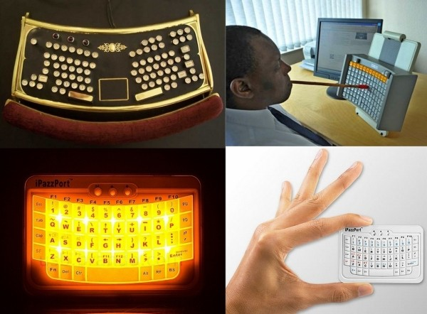 Обзор необычных клавиатур от современных дизайнеров