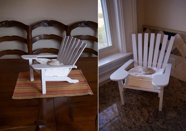 Дачный стульчик для салфеток