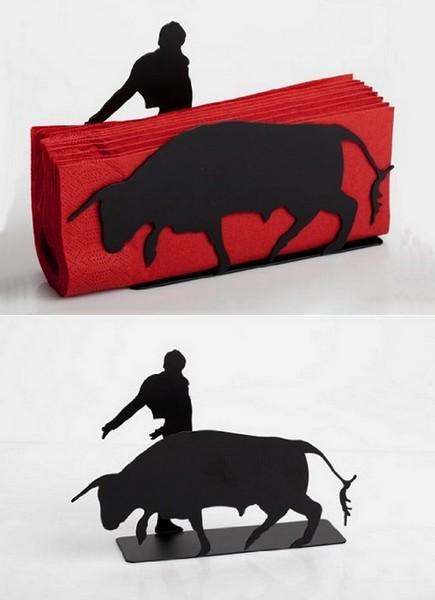 Bull and Matador, салфетница от Artori Design