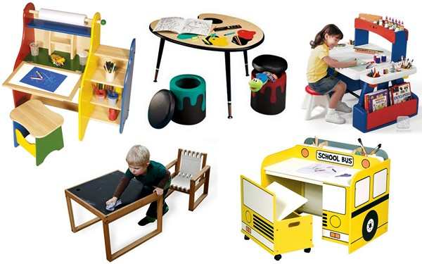 Обзор креативных детских столов