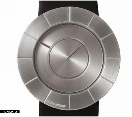 Часы - железное блюдце