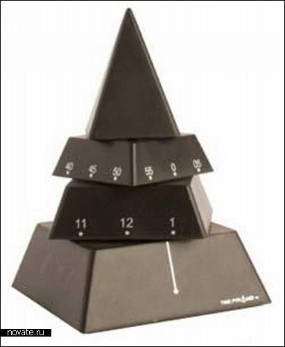 Часы - пирамидка