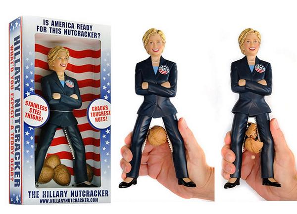 Щелкунчик Hillary как плод американского юмора