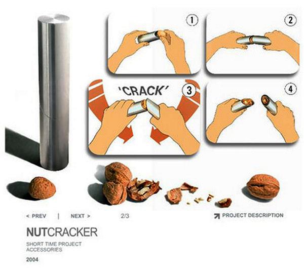 Tube-like Nutcracker. Орехокол-труба