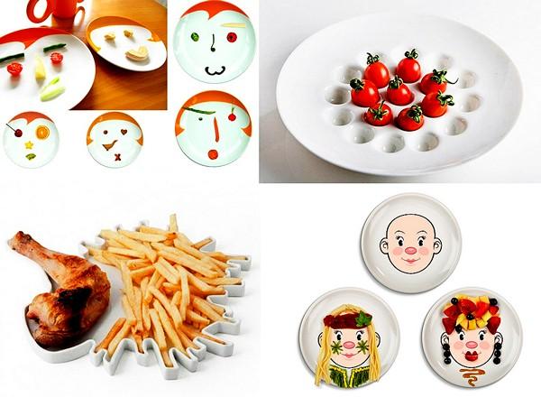 Обзор необычных дизайнерских тарелок