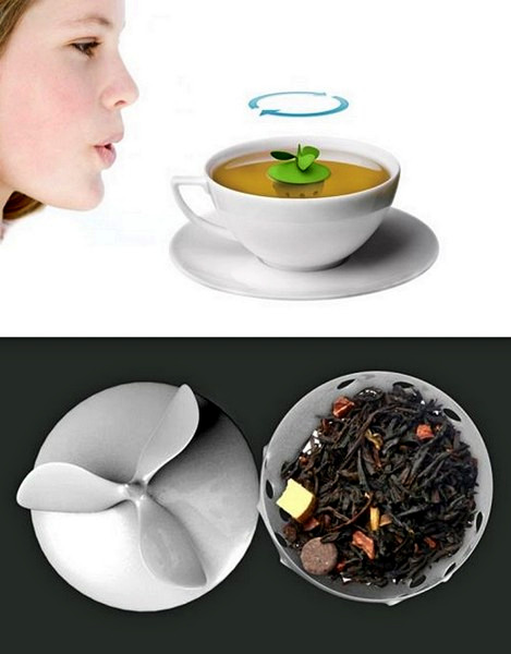 Заварник с пропеллером Chigra tea infuser