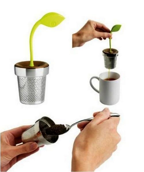 Kettle with leaves Arta Tea Leaf Infuser
