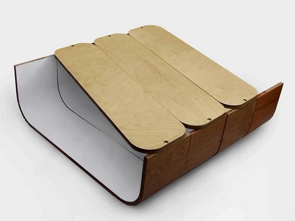 Журнальный столик-гармошка UMYD Coffee Table от Cruxflux