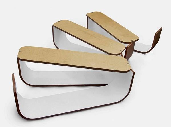 Студенческий дизайн-проект UMYD Coffee Table. Модульный растягивающийся журнальный столик