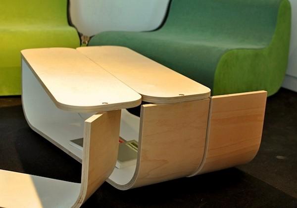 Модульный растягивающийся столик UMYD Coffee Table от Cruxflux