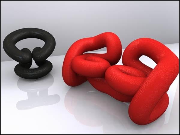 Мебель будущего. Проект Curve от Дарко Николич (Darko Nikolic)