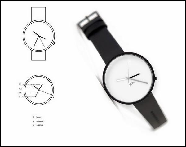 Часы  Wherever Watch с четырьмя стрелками