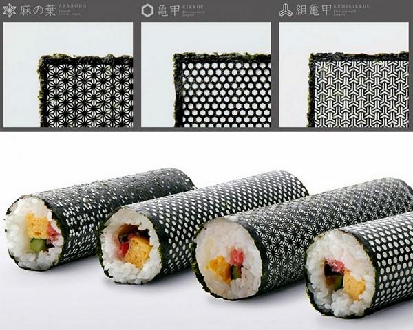 Design Nori для дизайнерских суши