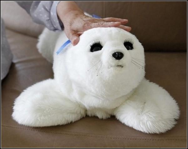 Little Digital Seal, роботизированная мягкая игрушка от японских дизайнеров