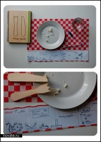 *Обеденный блокнот* Dining Agenda от Sara Ferrari
