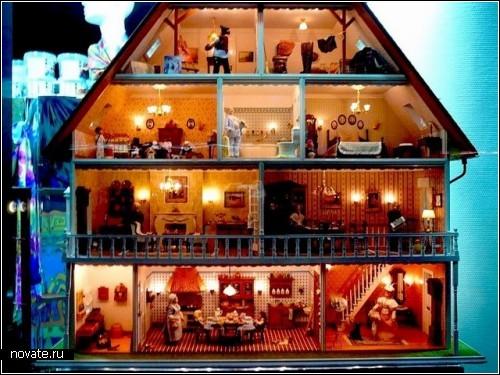 Шедевры мини-архитектуры. С этими кукольными домиками нельзя поиграть...
