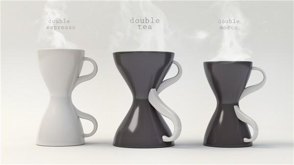 Концептуальные чашки Double Couple от Катерины Семенько
