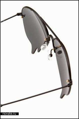 *Расплавленные* очки Dripping Sunglasses