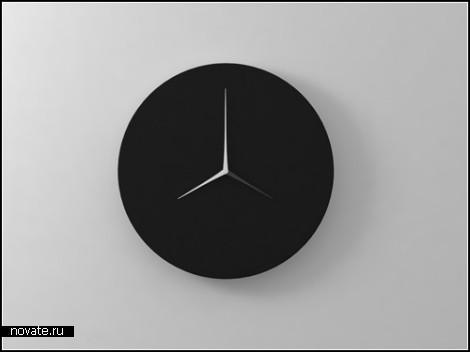 Часы Dual-Time Wall Clock от дизайнера Kit Men Keung
