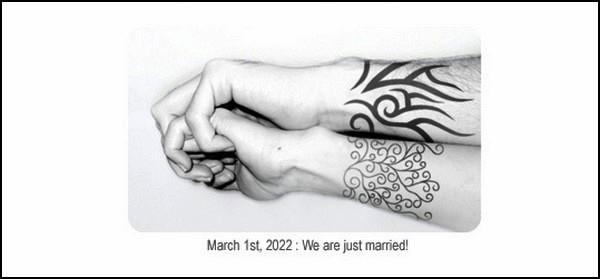 Безболезненно и креативно, электронная татуировка-концепт