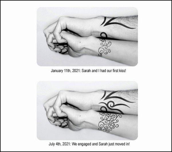 E-Tattoo, удивительный прорыв в области body-mody