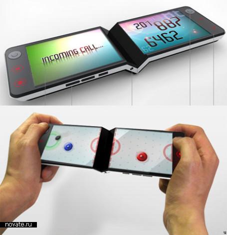 Концептуальный Eagle Phone для конкурса от компании LG