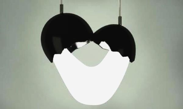 Необычные яичные светильники