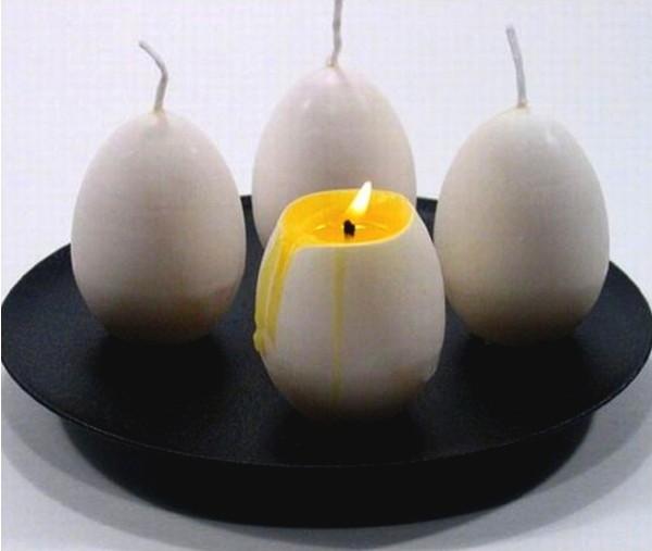 Свечки в виде яиц