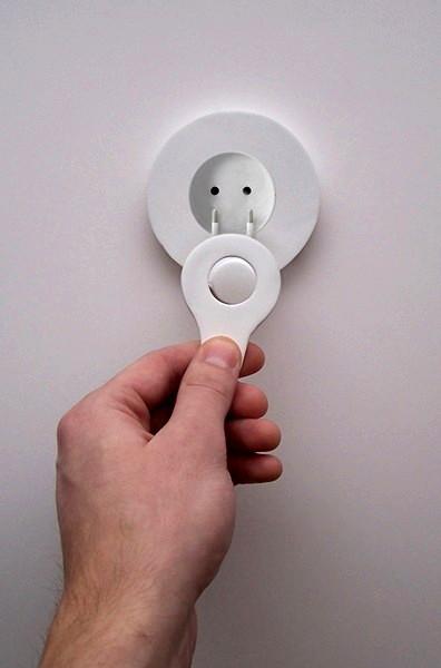 Electrical outlet. Гениальный дизайн розеток от Milena Wlodarczyk